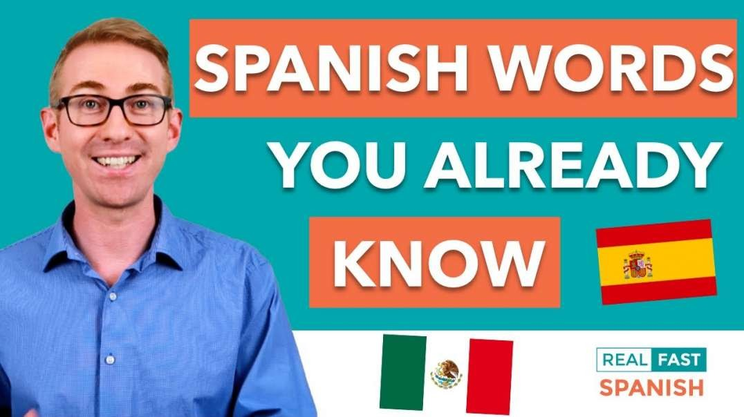 1001 Spanish Words You Already Know | Spanish Cognates