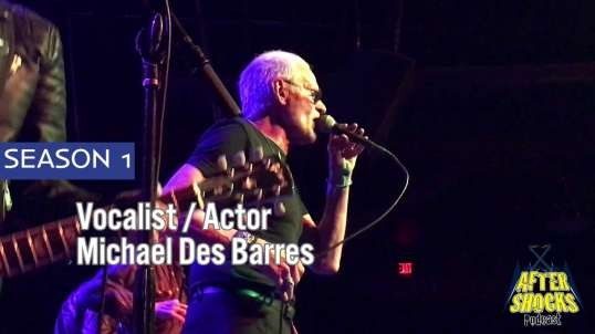 The Mistakes - Live - The Aftershocks Interview With Michael Des Barres