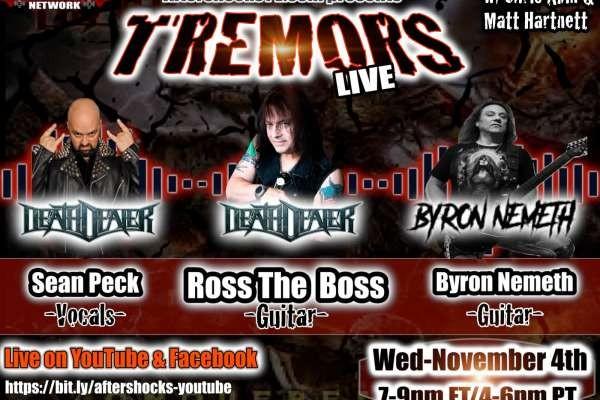 Death Dealer and Byron Nemeth On Aftershocks Tremors Live 11/4/20