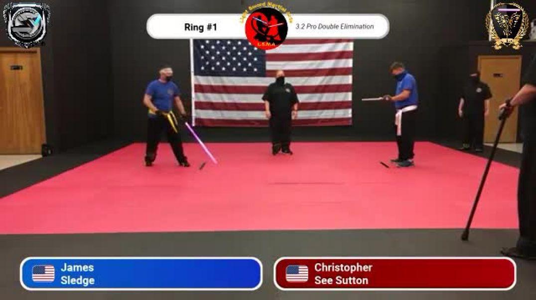James Sledge vs. Christopher Sutton - Pro Division Round 7