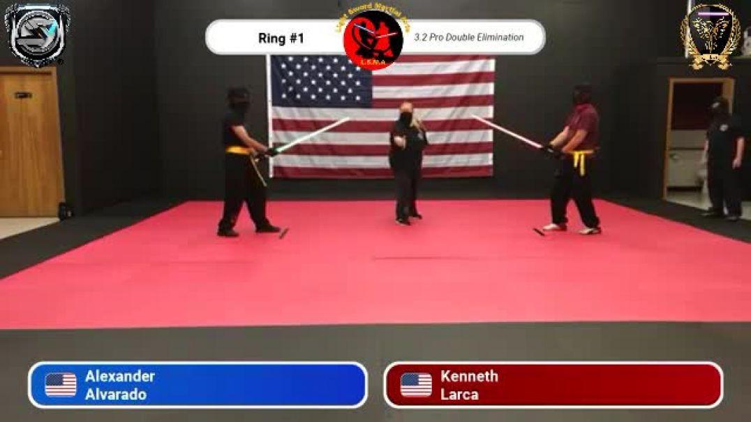 Alexander Alvarado vs. Kenneth Larca - Pro Division Round 19