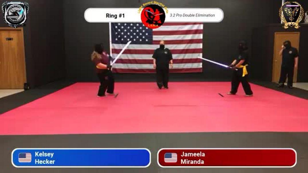 Kelsey Hecker vs. Jameela Miranda - Pro Division Round 16