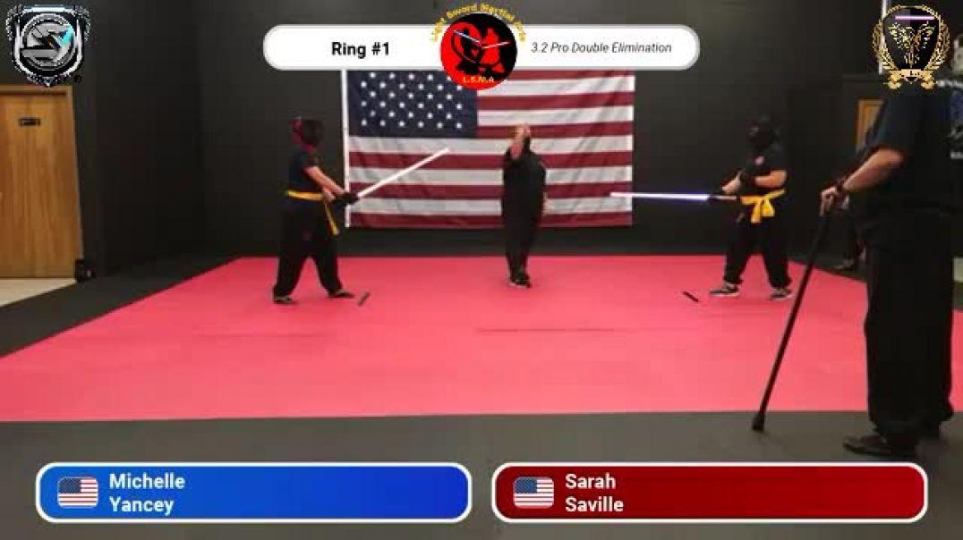 Michelle Yancey vs. Sarah Saville - Pro Division Round 5