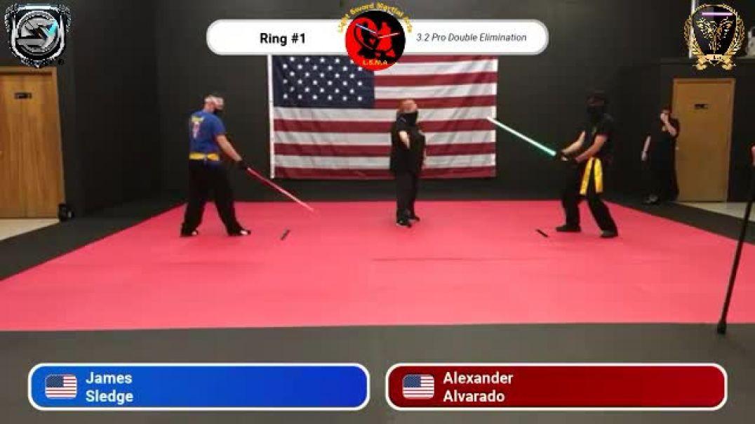 James Sledge vs. Alexander Alvarado - Pro Division Round 20