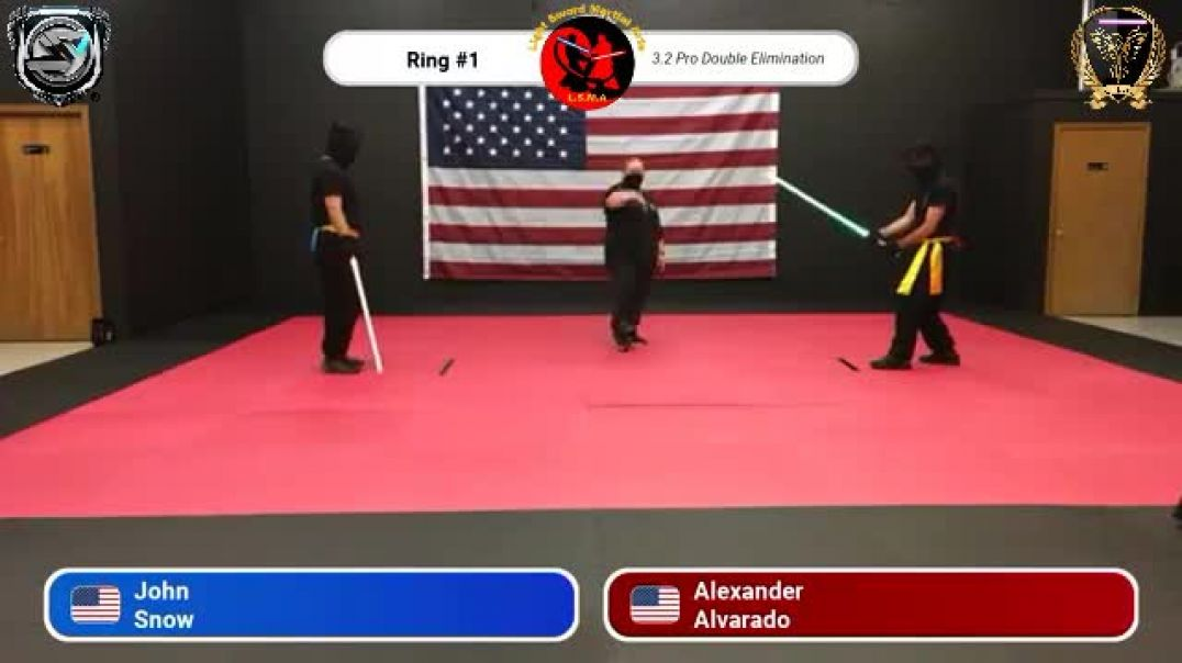 Trevor Coon (aka John Snow) vs. Alexander Alvarado -  Pro Division Round 14