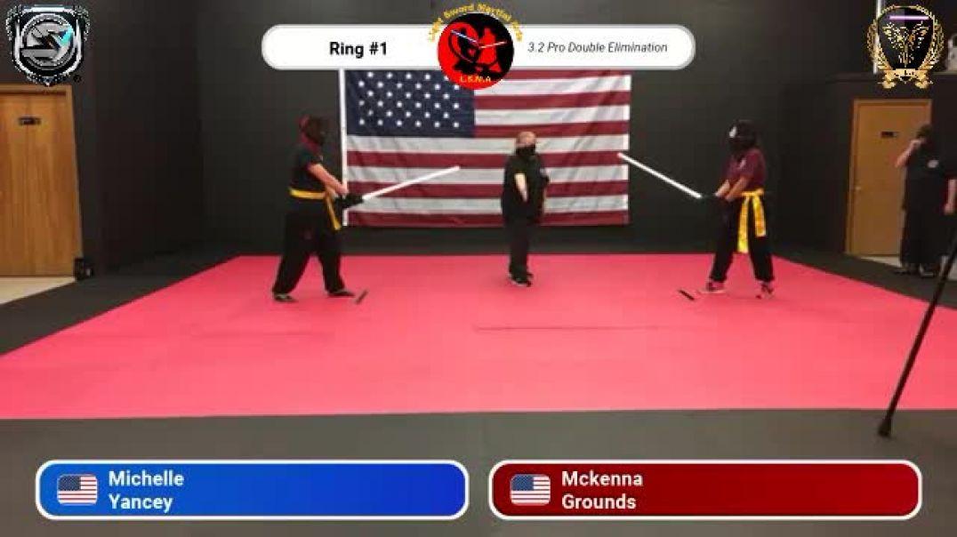 Michelle Yancey vs. McKenna Grounds - Pro Division Round 4